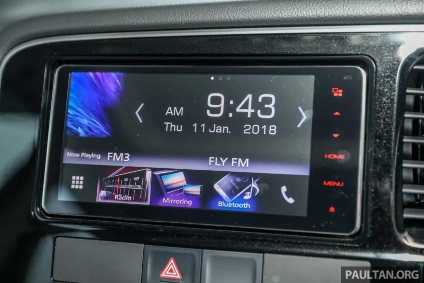 GALERI: Mitsubishi Outlander 2.4L CKD – RM155k Image #762731