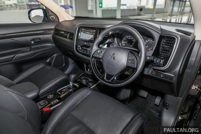 GALERI: Mitsubishi Outlander 2.4L CKD – RM155k Image #762698