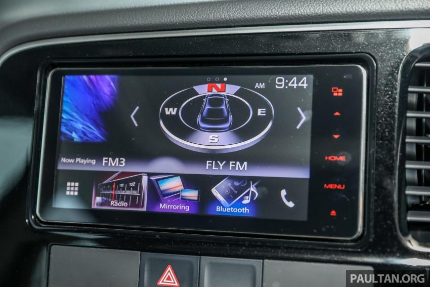GALERI: Mitsubishi Outlander 2.4L CKD – RM155k Image #762737