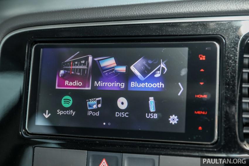 GALERI: Mitsubishi Outlander 2.4L CKD – RM155k Image #762740