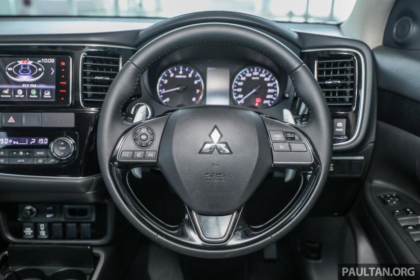GALERI: Mitsubishi Outlander 2.4L CKD – RM155k Image #762699