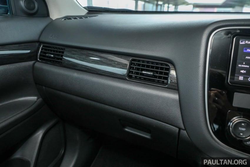 GALERI: Mitsubishi Outlander 2.4L CKD – RM155k Image #762774