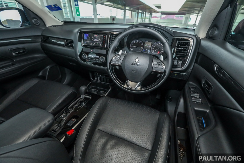 GALERI: Mitsubishi Outlander 2.4L CKD – RM155k Image #762779