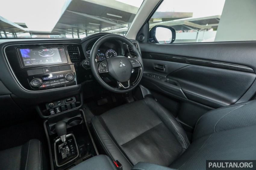 GALERI: Mitsubishi Outlander 2.4L CKD – RM155k Image #762782
