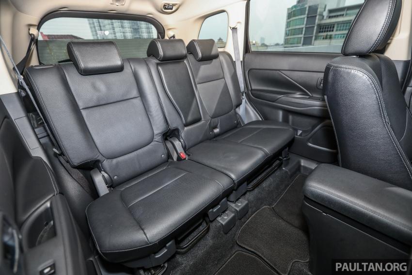 GALERI: Mitsubishi Outlander 2.4L CKD – RM155k Image #762817
