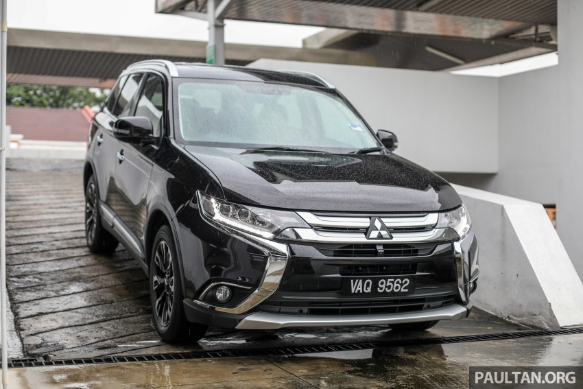 GALERI: Mitsubishi Outlander 2.4L CKD – RM155k Image #762842