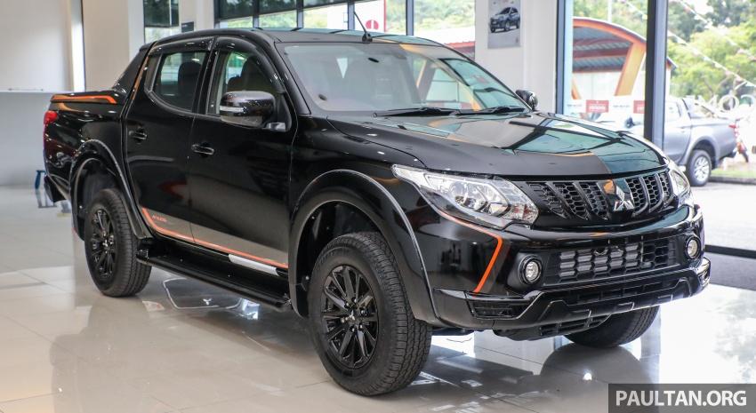 Mitsubishi Triton Athlete lands in Malaysia – RM127k Image #764441
