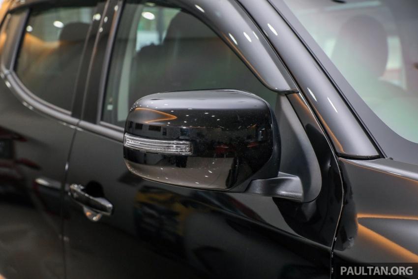 Mitsubishi Triton Athlete tiba di M'sia – pelbagai ciri tambahan, sokongan Apple CarPlay, harga kekal Image #764349