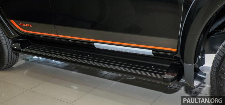 Mitsubishi Triton Athlete lands in Malaysia – RM127k Image #764458