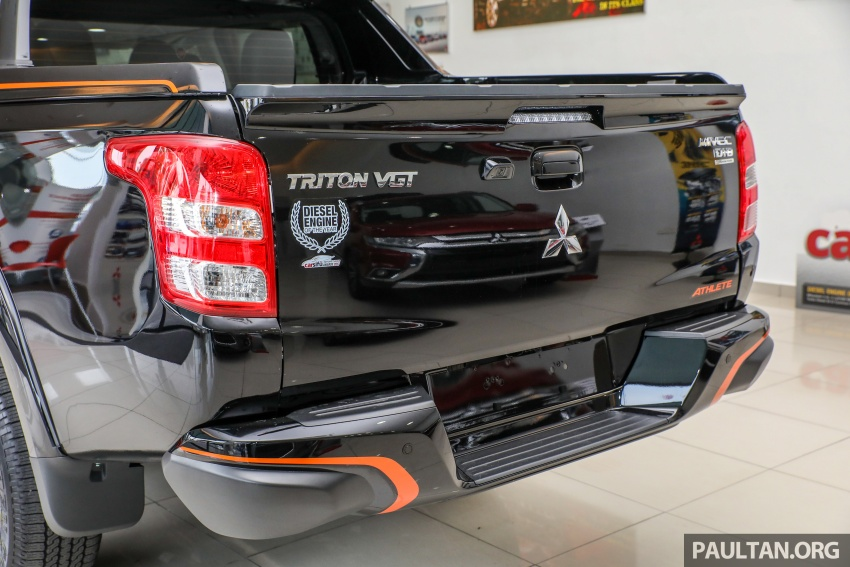 Mitsubishi Triton Athlete lands in Malaysia – RM127k Image #764462