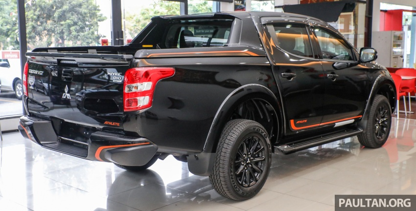 Mitsubishi Triton Athlete lands in Malaysia – RM127k Image #764443