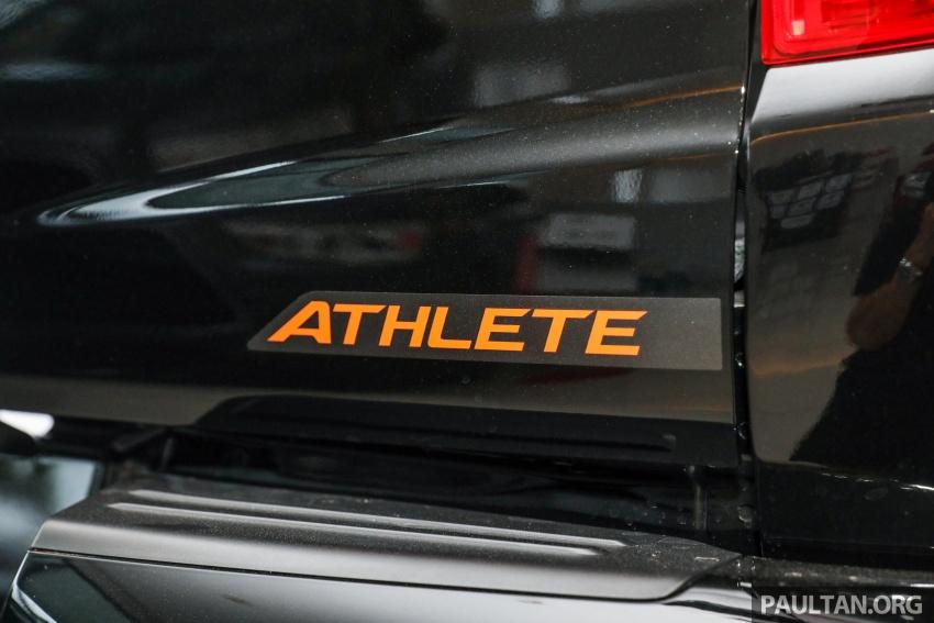 Mitsubishi Triton Athlete tiba di M'sia – pelbagai ciri tambahan, sokongan Apple CarPlay, harga kekal Image #764365