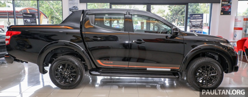 Mitsubishi Triton Athlete lands in Malaysia – RM127k Image #764445