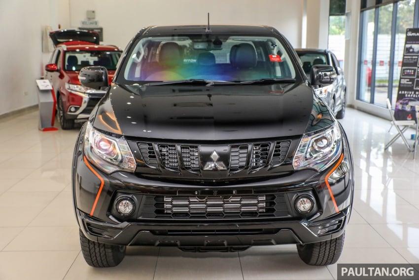 Mitsubishi Triton Athlete lands in Malaysia – RM127k Image #764446