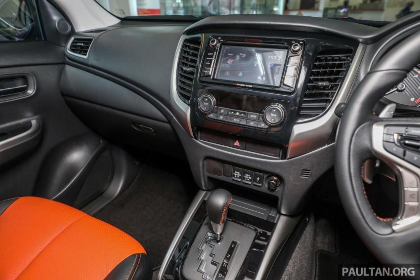 Mitsubishi Triton Athlete tiba di M'sia – pelbagai ciri tambahan, sokongan Apple CarPlay, harga kekal Image #764379