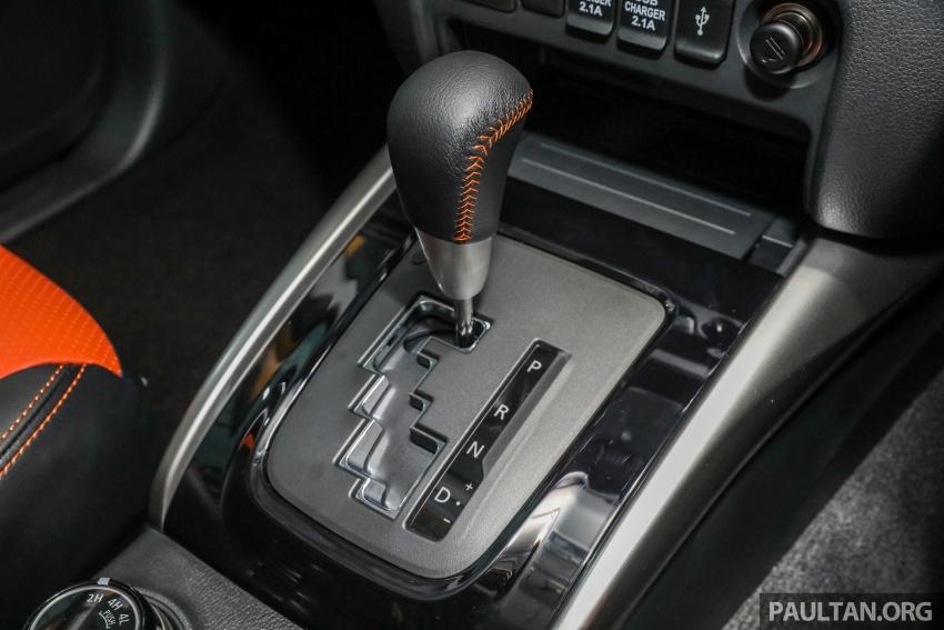 Mitsubishi Triton Athlete tiba di M'sia – pelbagai ciri tambahan, sokongan Apple CarPlay, harga kekal Image #764385
