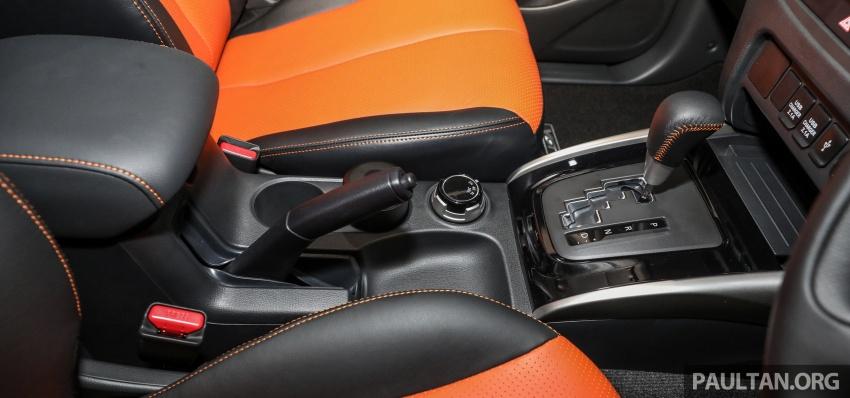 Mitsubishi Triton Athlete tiba di M'sia – pelbagai ciri tambahan, sokongan Apple CarPlay, harga kekal Image #764389