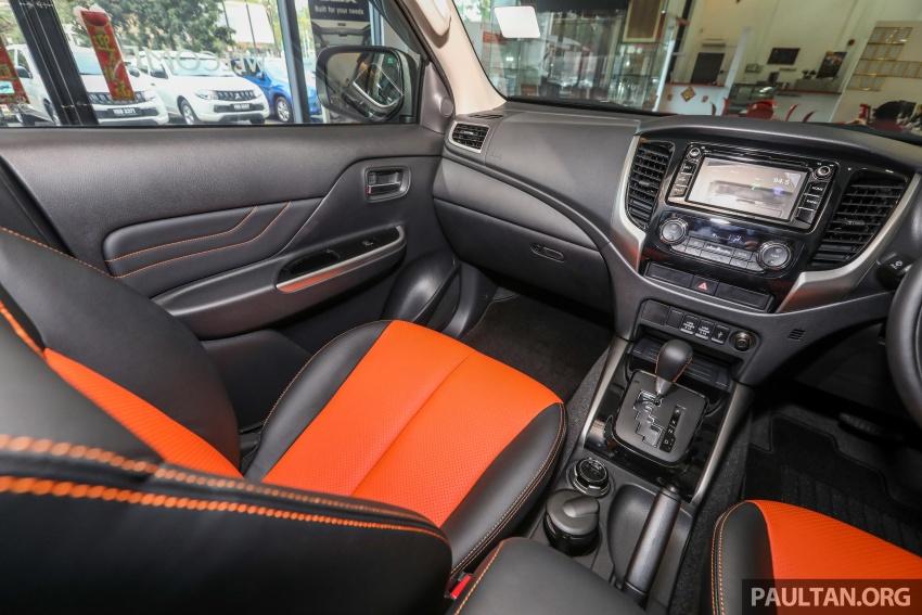 Mitsubishi Triton Athlete tiba di M'sia – pelbagai ciri tambahan, sokongan Apple CarPlay, harga kekal Image #764395