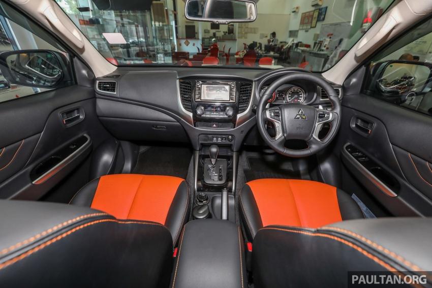 Mitsubishi Triton Athlete tiba di M'sia – pelbagai ciri tambahan, sokongan Apple CarPlay, harga kekal Image #764370