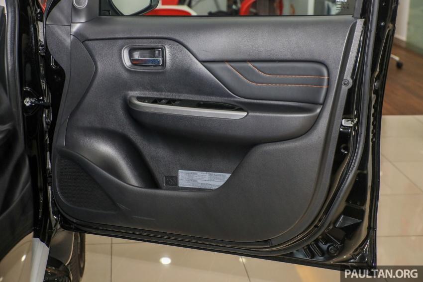 Mitsubishi Triton Athlete tiba di M'sia – pelbagai ciri tambahan, sokongan Apple CarPlay, harga kekal Image #764407