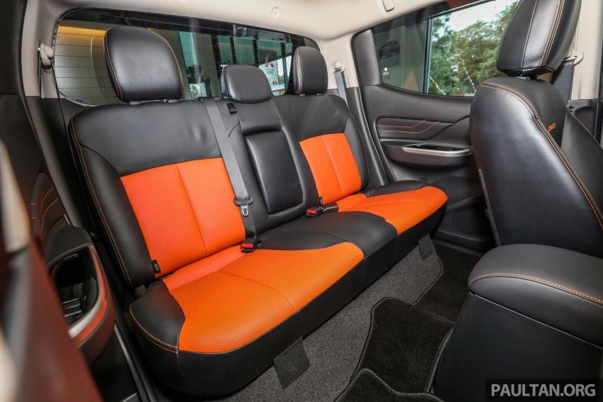 Mitsubishi Triton Athlete tiba di M'sia – pelbagai ciri tambahan, sokongan Apple CarPlay, harga kekal Image #764412