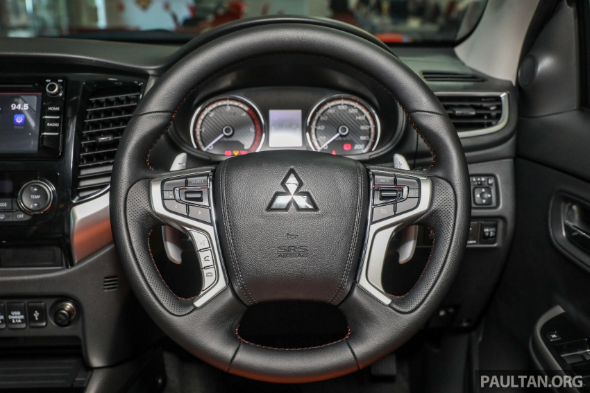 Mitsubishi Triton Athlete tiba di M'sia – pelbagai ciri tambahan, sokongan Apple CarPlay, harga kekal Image #764371