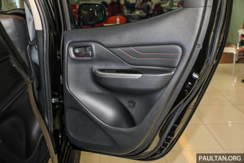 Mitsubishi Triton Athlete tiba di M'sia – pelbagai ciri tambahan, sokongan Apple CarPlay, harga kekal Image #764419