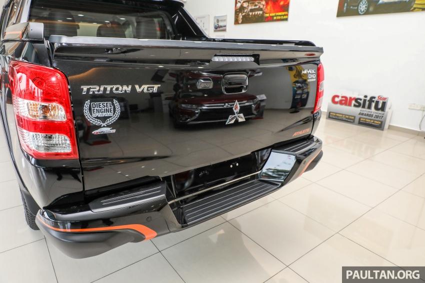 Mitsubishi Triton Athlete lands in Malaysia – RM127k Image #764519