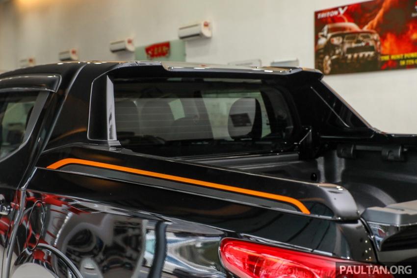 Mitsubishi Triton Athlete tiba di M'sia – pelbagai ciri tambahan, sokongan Apple CarPlay, harga kekal Image #764427