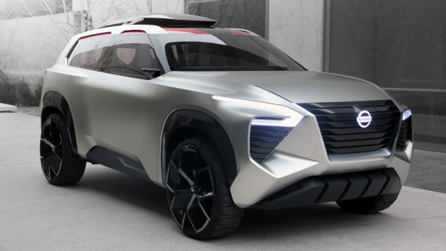 Nissan Has Finally Pulled The Veils Off Its Latest Concept Car Xmotion At 2018 Detroit Auto Show Suv Which Features Three Row