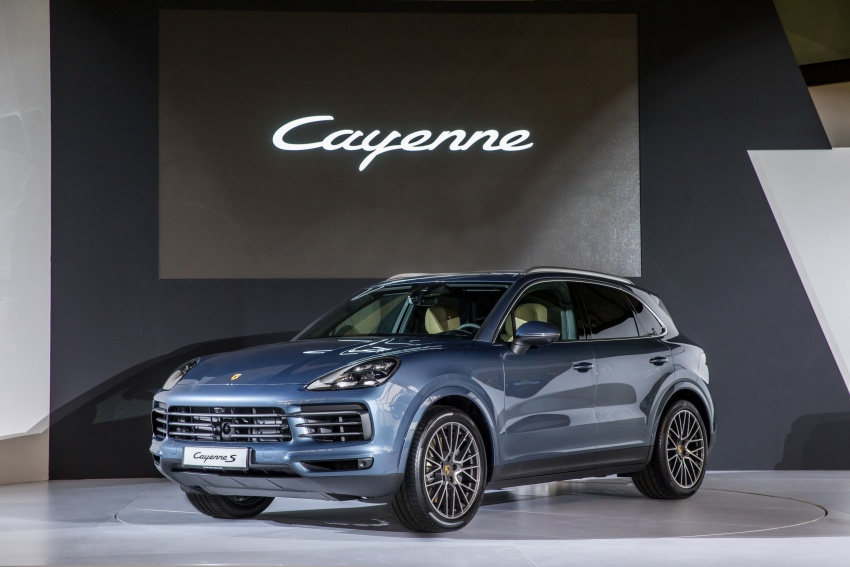 2018 Porsche Cayenne officially previewed in Malaysia Image #771105