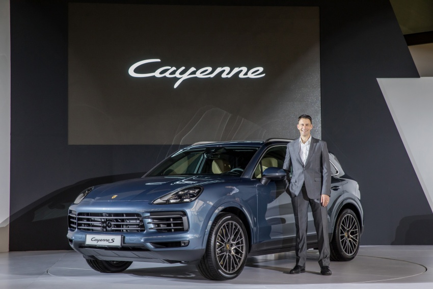 2018 Porsche Cayenne officially previewed in Malaysia Image #771106