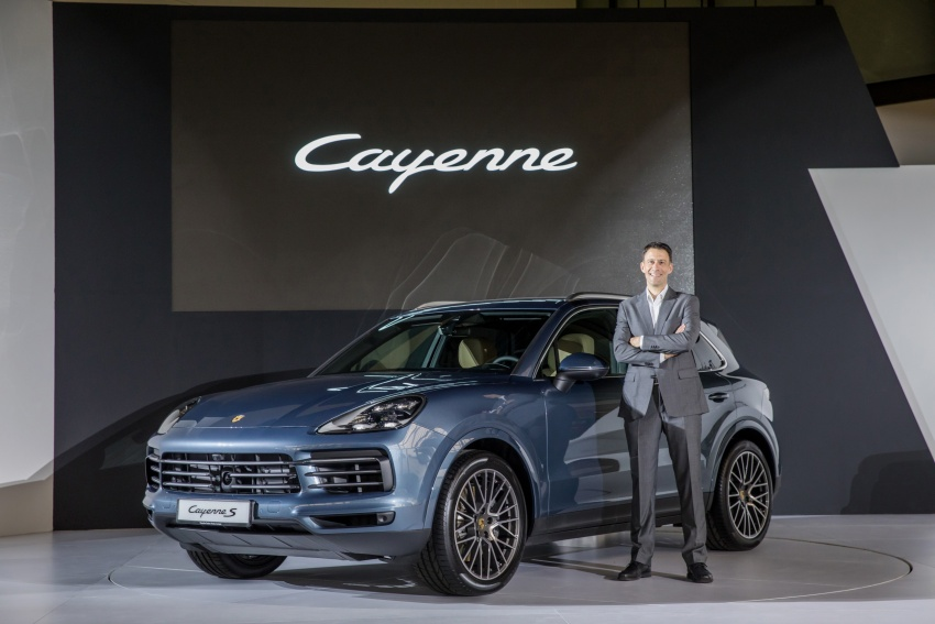 2018 Porsche Cayenne officially previewed in Malaysia Image #771107