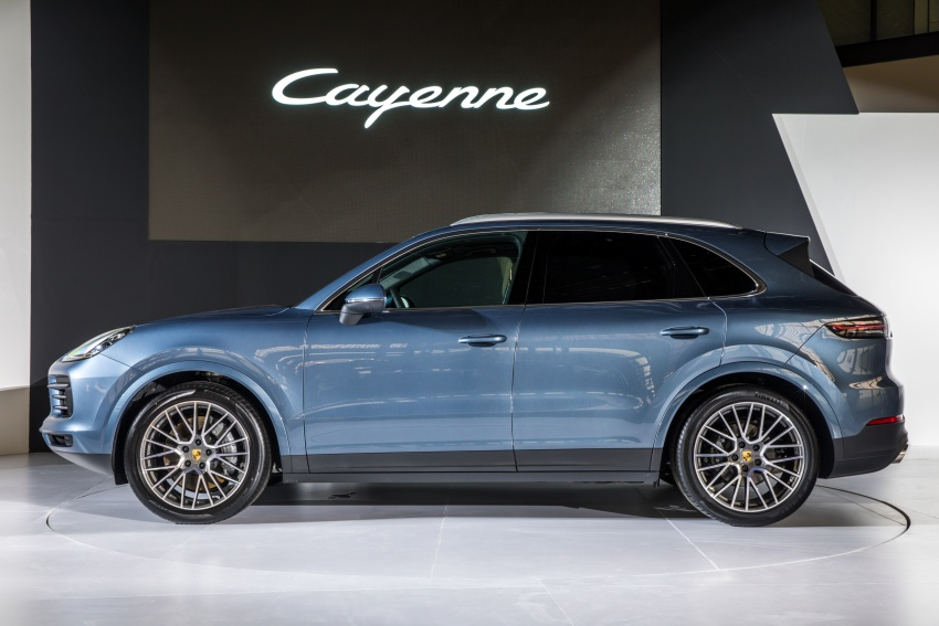2018 Porsche Cayenne officially previewed in Malaysia Image #771108