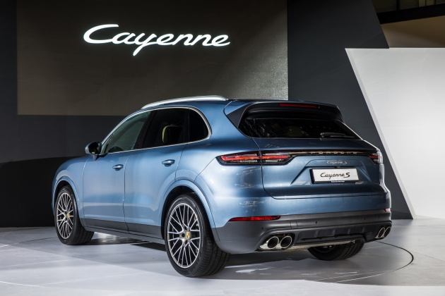2018 Porsche Cayenne Officially Previewed In Malaysia