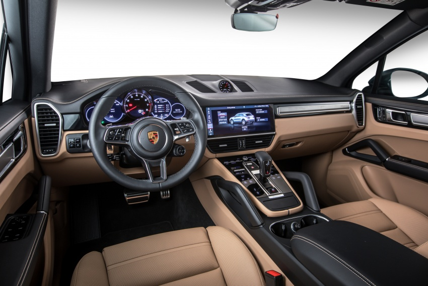 2018 Porsche Cayenne officially previewed in Malaysia Image #771102