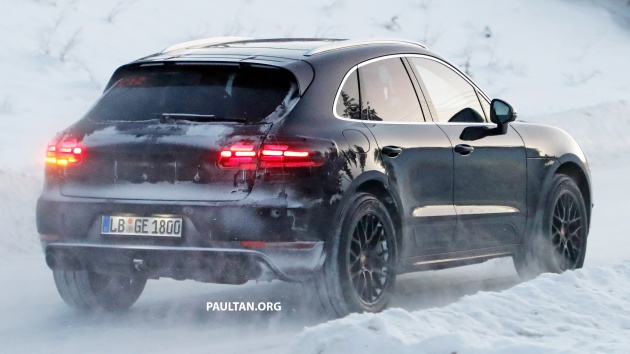 Spied 2018 Porsche Macan New Looks More Power