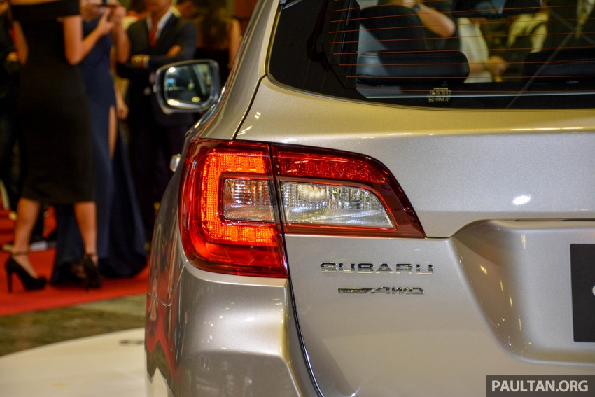 Subaru Outback facelift, XV 2.0 launched in Singapore Image #759899