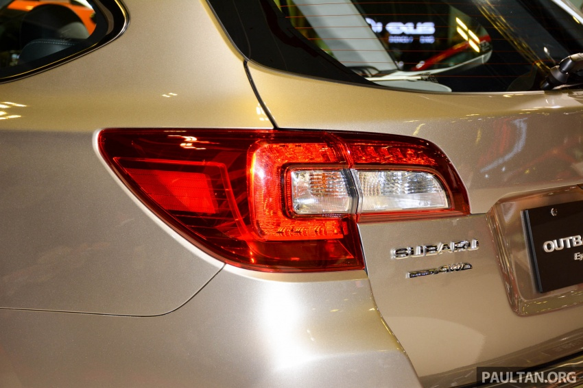 Subaru Outback facelift, XV 2.0 launched in Singapore Image #759901