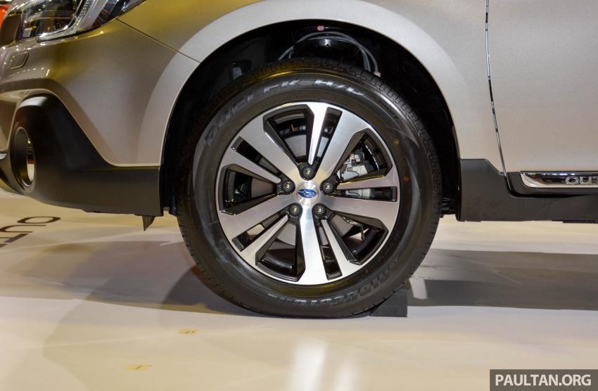 Subaru Outback <em>facelift</em> dan XV 2.0 liter dilancarkan di Singapura – penampilan sulung EyeSight di ASEAN Image #759912