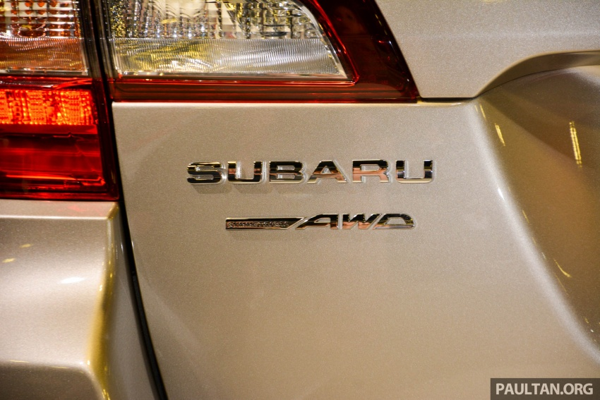 Subaru Outback facelift, XV 2.0 launched in Singapore Image #759915