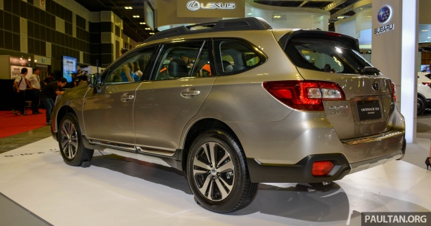 2018 Subaru Outback 2 5i-S EyeSight official price list