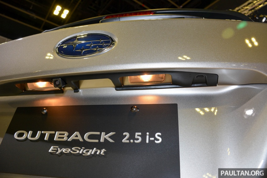 Subaru Outback facelift, XV 2.0 launched in Singapore Image #759917