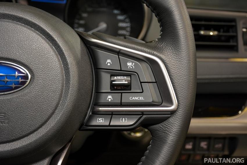 Subaru Outback <em>facelift</em> dan XV 2.0 liter dilancarkan di Singapura – penampilan sulung EyeSight di ASEAN Image #759936