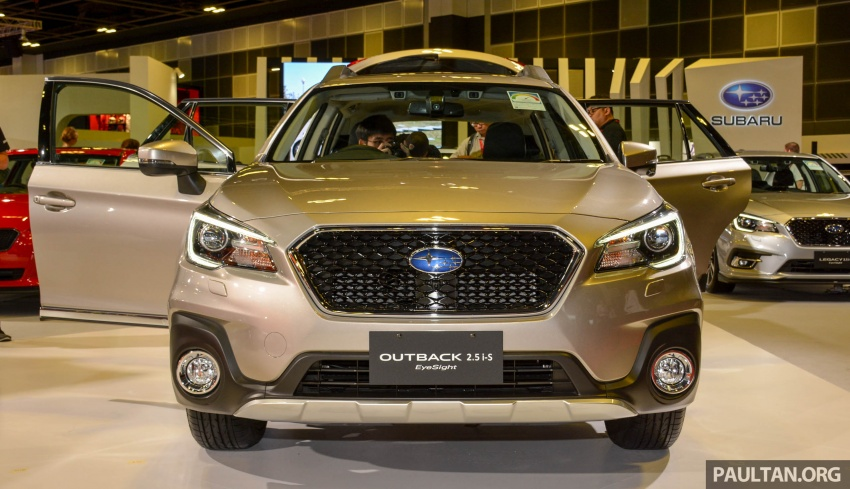 Subaru Outback facelift, XV 2.0 launched in Singapore Image #759883