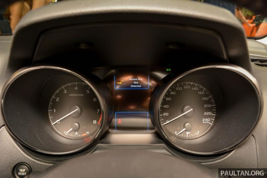 Subaru Outback <em>facelift</em> dan XV 2.0 liter dilancarkan di Singapura – penampilan sulung EyeSight di ASEAN Image #759949
