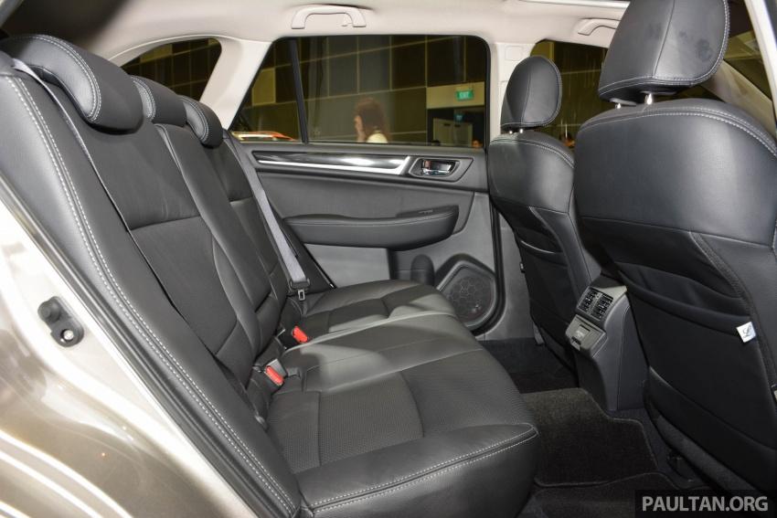 Subaru Outback <em>facelift</em> dan XV 2.0 liter dilancarkan di Singapura – penampilan sulung EyeSight di ASEAN Image #759958