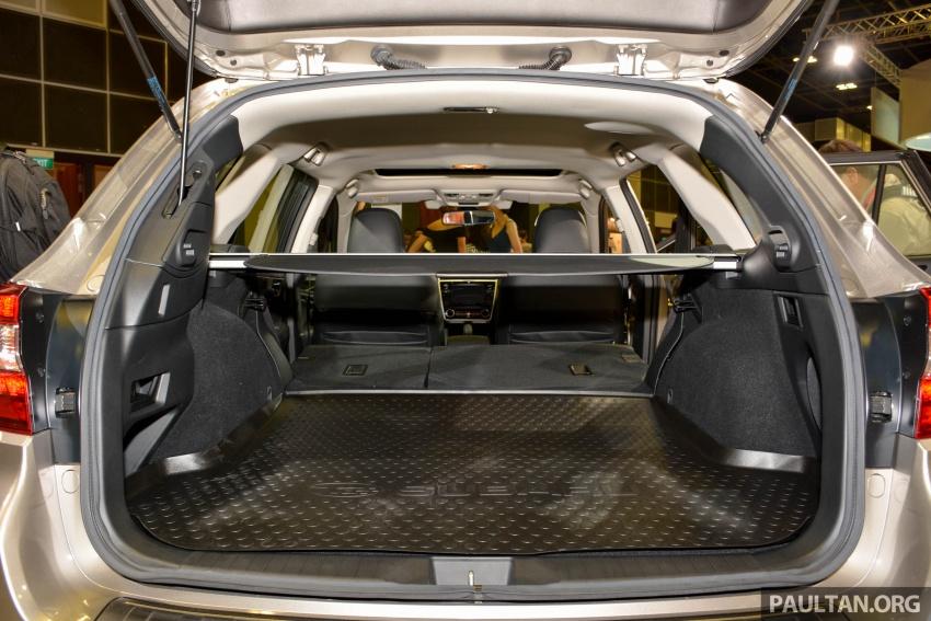 Subaru Outback <em>facelift</em> dan XV 2.0 liter dilancarkan di Singapura – penampilan sulung EyeSight di ASEAN Image #759966