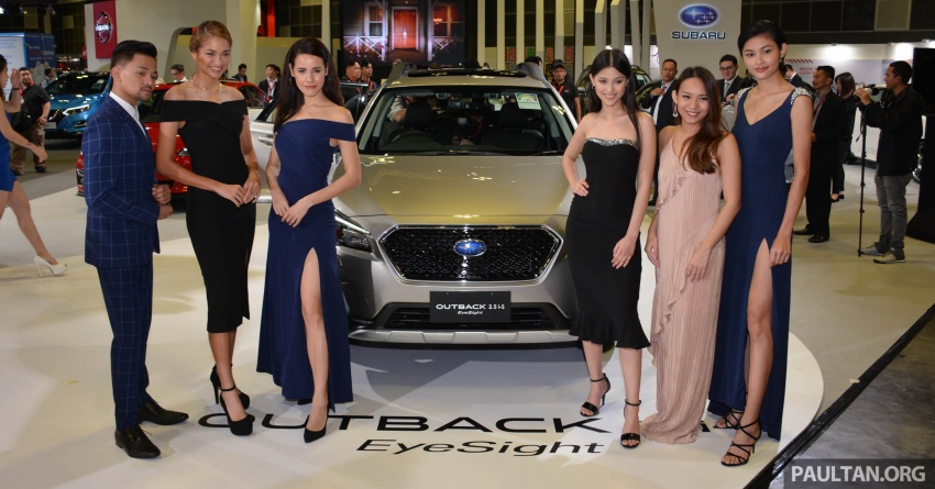 Subaru Outback facelift, XV 2.0 launched in Singapore Image #759960
