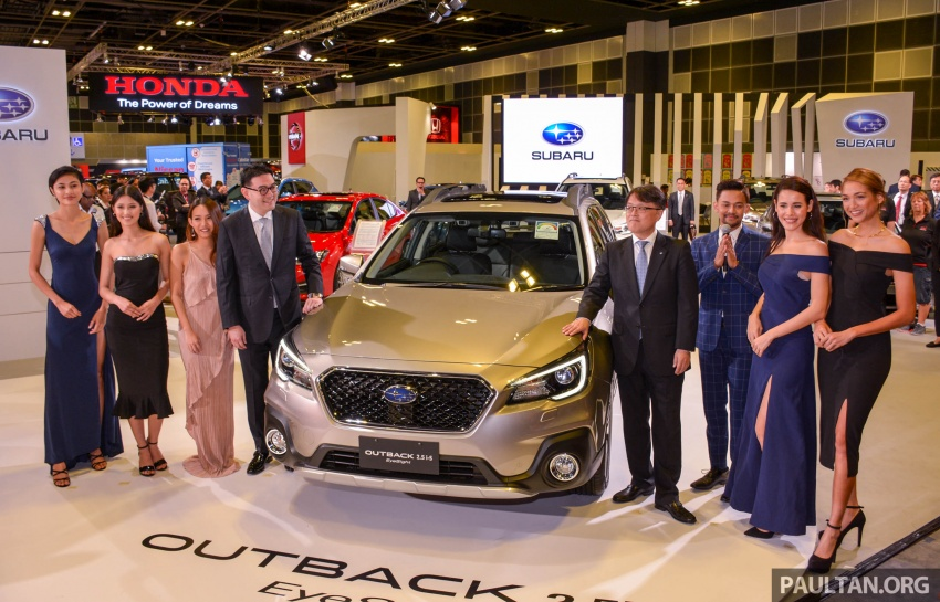 Subaru Outback facelift, XV 2.0 launched in Singapore Image #759963